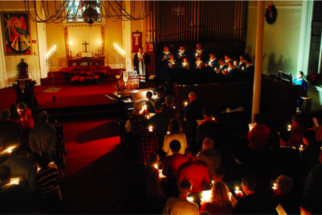 Christmas Eve, 2016 at the United Ministry of Delhi